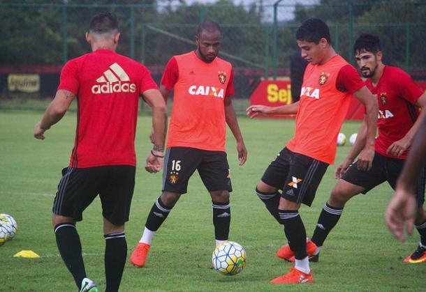 Leoninos se reapresentam na tarde desta terça-feira (27) no CT José Médicis (Foto: Williams Aguiar/Sport)