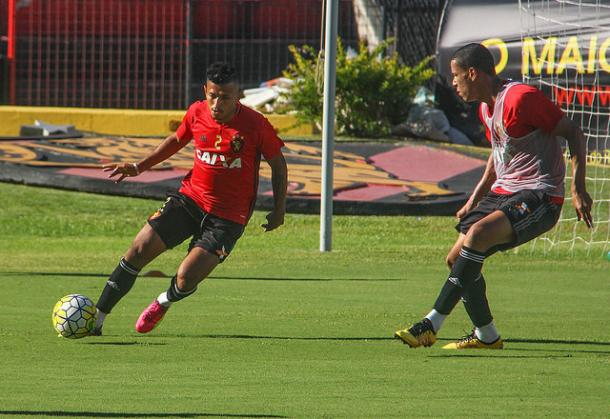 Rubro-negros encerram preparação em Recife para jogo ante Fluminense (Foto: Williams Aguiar/Sport)