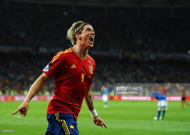 Fernando Torres foi o primeiro jogador a marcar em duas finais