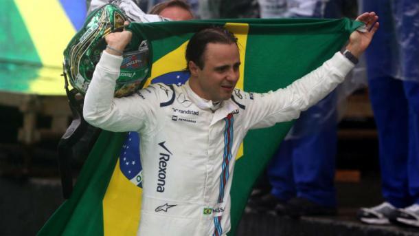 Felipe Massa en Brasil. Fuente: AFP