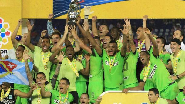 Atlético Nacional tricampeón de la Copa Colombia. Foto: AS Colombia.