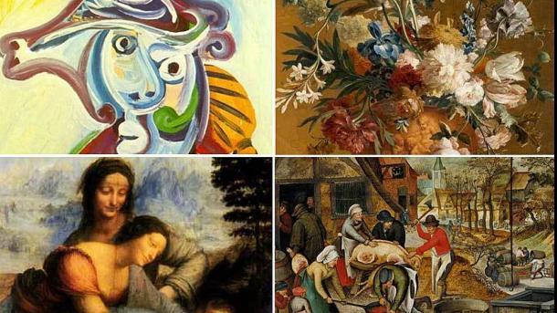 Algunas de las obras de arte que el Getafe ofreció para pagar su deuda | MARCA.com
