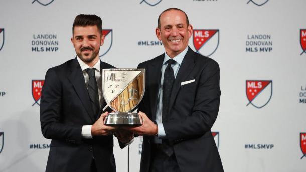 David Villa, Landon Donovan MLS MVP 2016 (mlssoccer.com)
