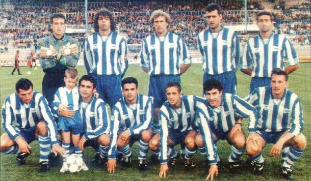 Una de las alineaciones típicas del Deportivo Alavés. Fuente: cadenaser.com