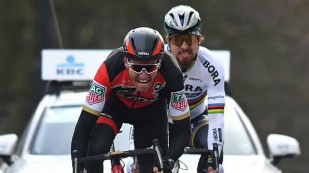 van avermaet y Sagan, los principales favoritos | Foto: Omloop Het Nieuwsblad