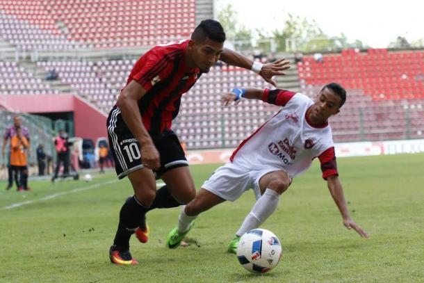 Gómez ante Portuguesa / FOTO: Deportivo Lara