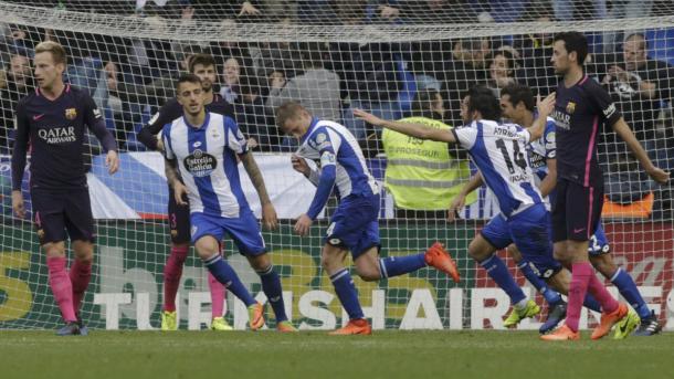Il Barcellona risente delle fatiche di Champions e cade a La Coruna: 2-1 al Riazor