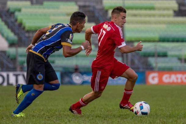 Rafa Arace, jugador más destacado ante Mineros / FOTO: Caracas FC