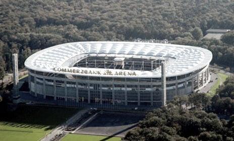 El Commerzbank-Arena goza de un aforo de 48.129 espectadores. Foto: Bundesliga