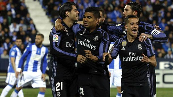 Morata, mattatore con il Leagnes. Fonte foto. sport.es