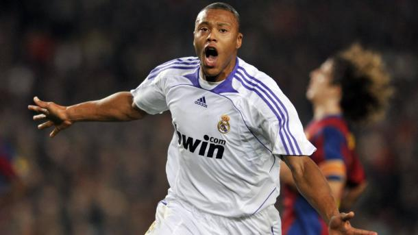 La Bestia celebrando un gol contra el FC Barcelona   Foto: Real Madrid