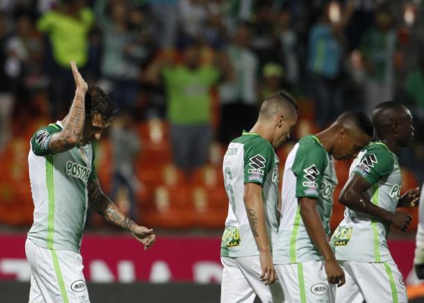 Dayro Moreno, no celebró su gol ante su club formador y pidió disculpas al mismo. | Foto: Diario AS