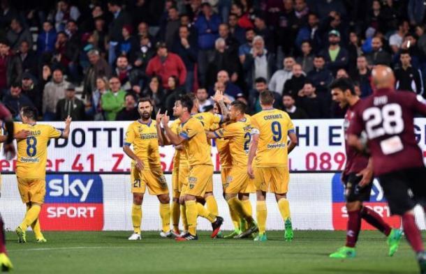 Il Frosinone crede ancora nel miracolo (Fonte foto: Corriere dello Sport)