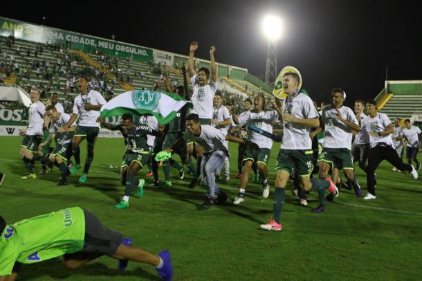 Chapecoense conquista o bicampeonato de Santa Catarina pela primeira vez na história Foto: Sirli Freitas/ Chapecoense
