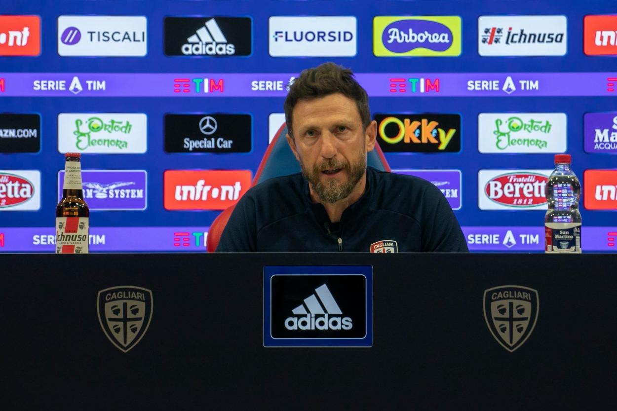 Eusebio Di Francesco, ex-técnico do Cagliari | Divulgação/Cagliari Calcio