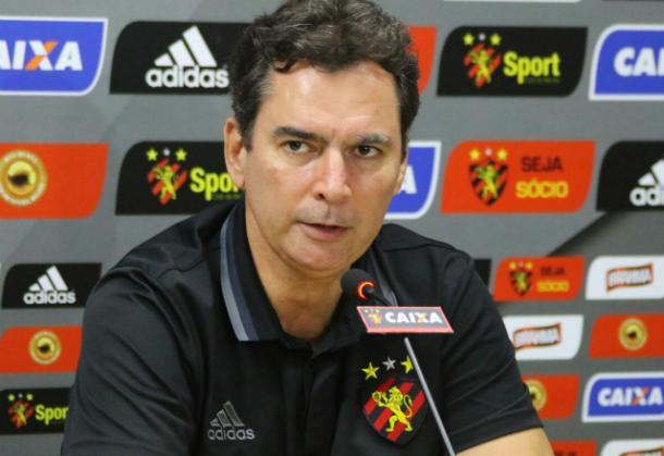 Executivo leonino vai continuar no departamento de futebol no próximo ano (Foto: Williams Aguiar/Sport)
