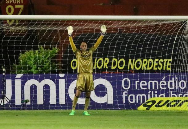 Magrão classificou o Sport em três competições diferentes após pênaltis este ano (Foto: Williams Aguiar/Sport)