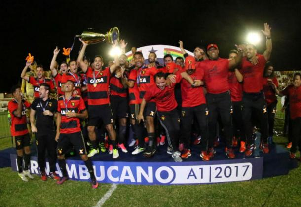 O Sport Recife segue como o maior campeão de Pernambuco (Foto: Williams Aguiar/SCR)