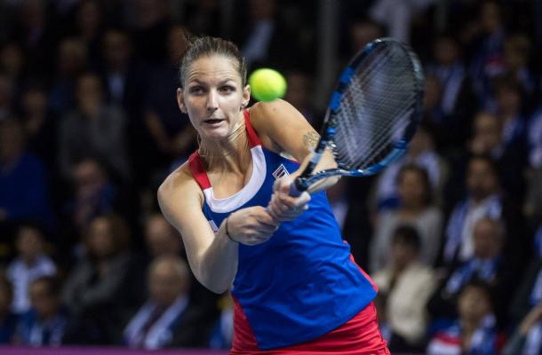 Pliskova fails to convert match points | Photo: Fed Cup