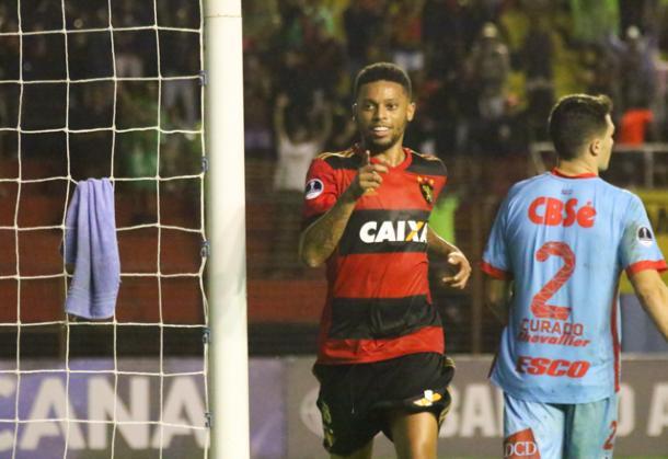Leão eliminou o Arsenal de Sarandí na última Copa Sul-Americana (Foto: Williams Aguiar/Sport)