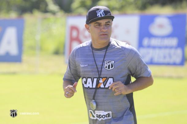 Técnico Marcelo Chamusca sinaliza mudanças no alvinegro (Foto: Fernando Ferreira/cearasc.com)