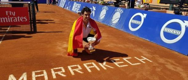 Pablo Andujar became the lowest ranked player this century to win an ATP World Tour title this week in Marrakech. Photo: ATP World Tour