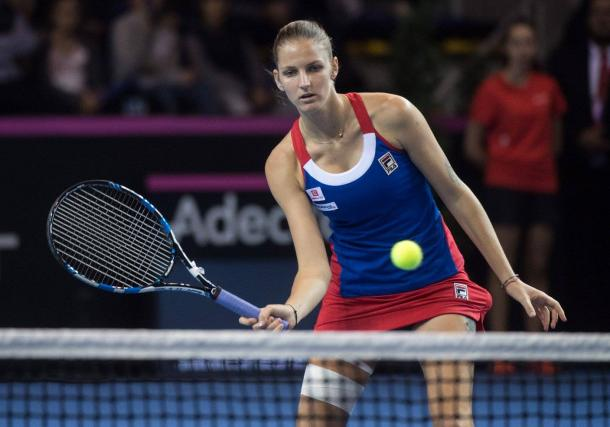 Pliskova forces a third set | Photo: Fed Cup