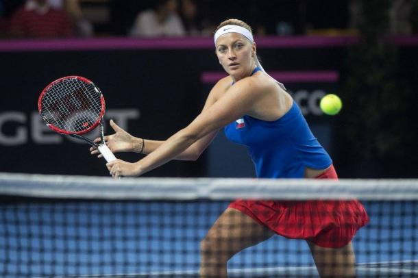 Kvitova finds her way back into the set | Photo: Fed Cup