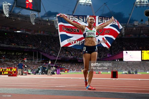 Ennis-Hill famously won gold at London 2012 during 'Super Saturday' (photo:getty)