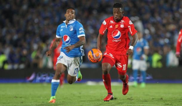 Vive el partido entre América y Millonarios por VAVEL - Foto: Caracol Radio