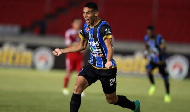 Brayan Hurtado vive un momento dulce con las redes / FOTO: Mineros FC