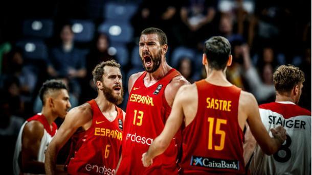 Marc Gasol fue clave ante Alemania. Foto: FIBA