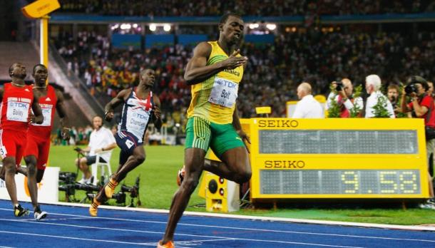 Bolt quebrou o recorde mundial outra vez em 2009 (Foto: Getty Images)