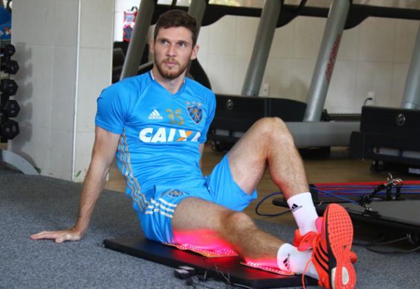 Raul Prata ainda não estreou na temporada (Foto: Williams Aguiar / Sport Club do Recife)