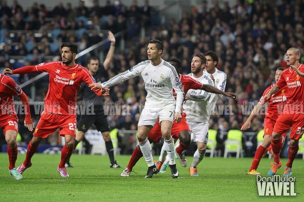 Ronaldo durante el último enfrentamiento entre ambos en 2014 | Foto: Dani Mullor (VAVEL)