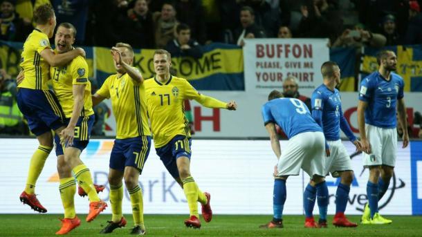 Suecia ganó el repechaje por la mínima diferencia | Foto: AS