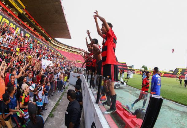 Leão conquistou tricampeonato do Estadual Sub-20 de maneira invicta (Foto: Williams Aguiar/Sport)