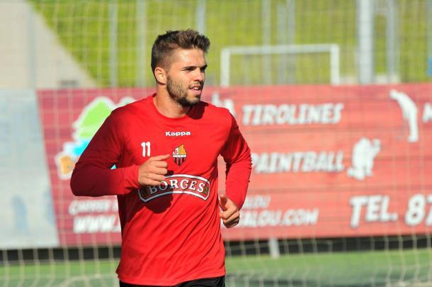 Fran Carbia es el maximo goleador del Reus con cinco dianas. (Foto: CF Reus)