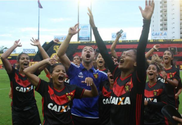Leoas foram campeãs do Pernambucano em 2017 e buscam bicampeonato em 2018 (Foto: Williams Aguiar/Sport)