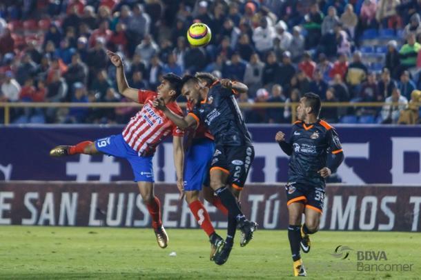 Alebrijes venció 0-2 a San Luis en el inicio del Clausura 2018 del Ascenso MX   Foto: Ascenso MX