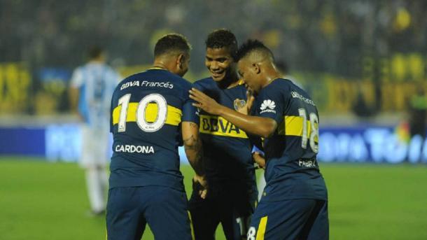 Los tres colombianos podrían jugar desde el arranque | Foto: Argentina AS