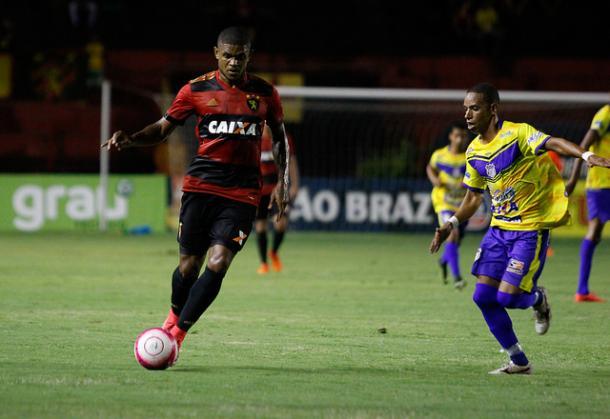Anselmo tem titularidade assegurada no Leão desde que chegou (Foto: Williams Aguiar/Sport)