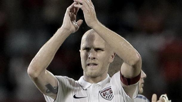 U.S. Captain Michael Bradley, who was named the 2015 Player of the Year Award. | Source: Ashlee Allen - Getty Images