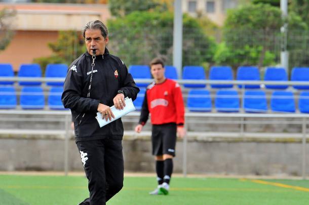 Natxo Gonzalez hablo muy bien de su proximo rival y alabo la renovacion de Carbia por el Reus. (Foto: CF Reus)