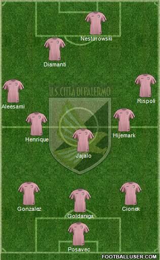 L'11 del Palermo