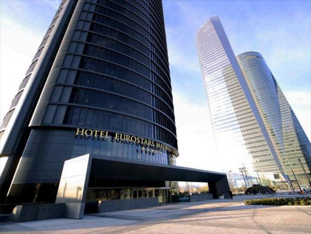 El hotel en el que se quedará River. Foto: Agoda.