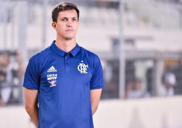 Barbieri está invicto no comando do Flamengo (Foto: Staff Images/ Flamengo)