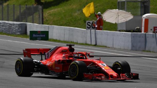 Sebastian Vettel. Foto: Fórmula 1