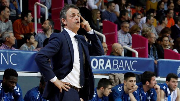 Fisac, durante un partido. Foto: ACB