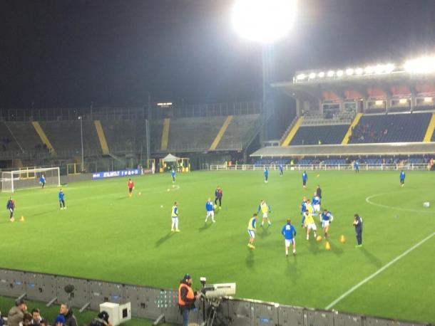 Riscaldamento Pescara | Vavel.com